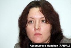 Олеся Щелкова, заместитель главного редактора газеты «Взгляд». Алматы, 29 ноября 2012 года.
