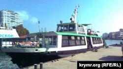 Туристическое судно в Севастополе. Архивное фото