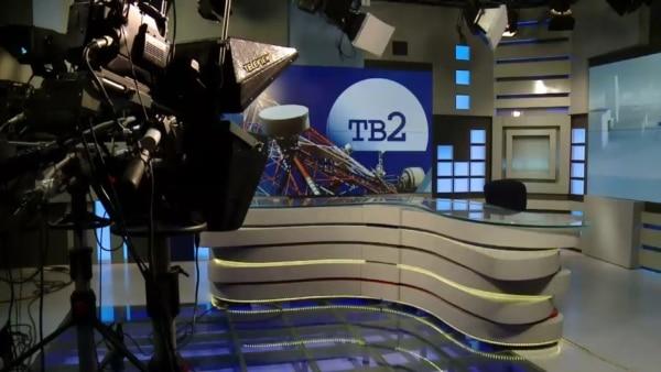 Опустевший съемочный павильон ТВ-2