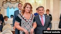 Гульсина и Рустам Миннихановы