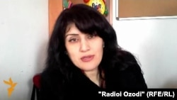 Заррина Кенҷаева, равоншинос.