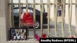 162 saylı məktəbin qarşısı, Bakı, 12 aprel 2019
