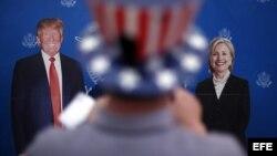 ԱՄՆ նախագահի թեկնածուներ Դոնալդ Թրամփ և Հիլարի Քլինթոն
