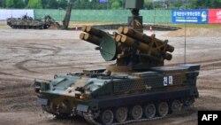 Южнокорейская военная техника на выставке Defense Expo Korea 2016.
