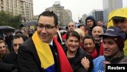 Premierul desemnat al României, Victor Ponta.