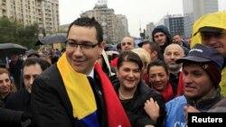 Premierul desemnat al României, Victor Ponta