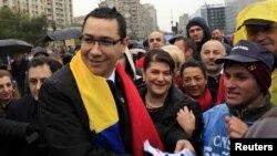 Лидерот на Социјалдемократската партија на Романија и нов премиер Виктор Понта.