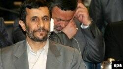 محمود احمدی نژاد، در نشست سازمان جهانی خواربار و کشاورزی. (عکس: AFP)