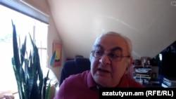 Ժիրայր Լիպարիտյանը զրուցում է «Ազատության» թղթակցի հետ