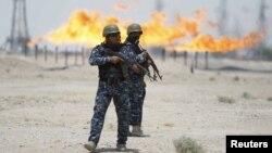 تاسیسات نفتی زبیر در شهر بصره- عراق
