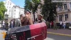 Сотні Майдану пікетують Держприкордонслужбу