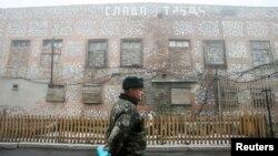Здание колонии в Макеевке. Декабрь 2014 года Иллюстративное фото
