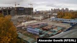 Vendi ku po ndërtohet stadiumi Zenit në Shën Petersburg