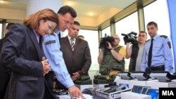 Опрема од САД за македонската гранична полиција и царина