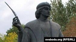 Помнік Скарыну ў Празе