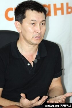 Журналист Лукпан Ахмедьяров.
