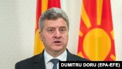 Presidenti i Maqedonisë, Gjorge Ivanov.