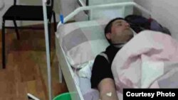 Абдурахман Отамурадов в больнице.