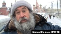 Немцов мост. Зимой