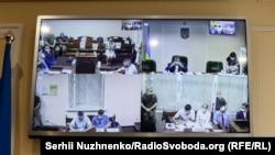 Трансляція судового засідання у справі Чауса, Київ, 4 серпня 2021 року