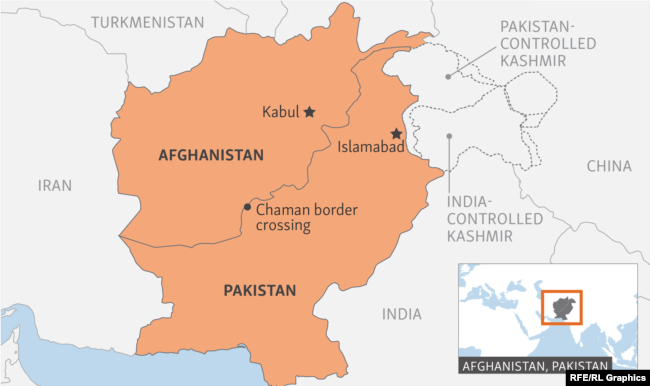 afghanistan pakistan dispute death toll in border clash