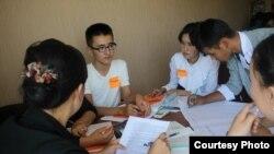 Youth of Osh уюштурган тренингдердин бири