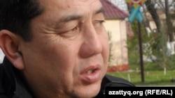 Канат Альсеитов, отец ребенка, инфицированного ВИЧ. Шымкент, 28 ноября 2015 года.