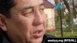 Қанат Әлсейітов, ВИЧ жұқтырған баланың әкесі. Шымкент, 28 қараша 2015 жыл.