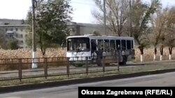 Автобус, в котором произошел взрыв
