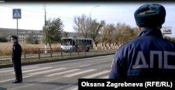 На месте взрыва автобуса в Волгограде