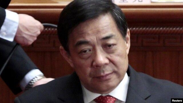 Disgraced Chinese Politburo member Bo Xilai