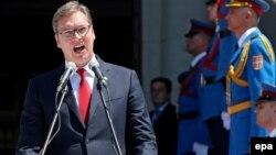 Inauguracija je druga po redu ceremonija koju je novoizabrani predsednik Srbije upriličio povodom dolaska na mesto šefa države