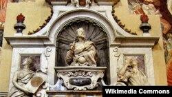 G.Galilei heykəli