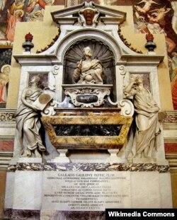 Гробница Галилея в Базилике Святого Креста во Флоренции