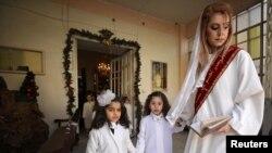 Suriyada Milad bayramı