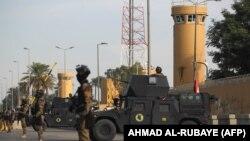 Bağdadda ABŞ səfirliyi, arxiv fotosu