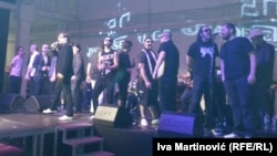 """Grupa """"Dvadesetorica"""" nastupili su prve večeri festivala u Mikseru"""