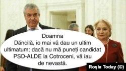 Romania- meme Tariceanu