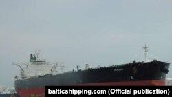 نفتکش «هپینس۱» در حال حاضر با پرچم پاناما در کرایه شرکت ملی نفتکشهای ایران است