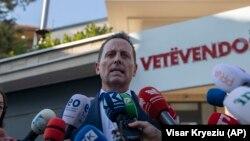 Специјалниот претставник на американскиот претседател за преговорите меѓу Белград и Приштина, Ричард Гренел