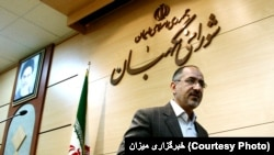 Iran -- Guardian Council spokesperson N. Ebrahimian.