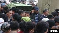 Садыркуловду акыркы сапарга узатуу, 12-апрель, 2009-жыл
