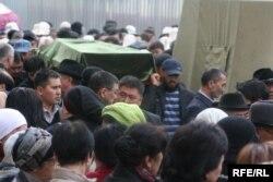 Медет Садыркуловдун жаназасы, 2009-жылдын 12-апрели.