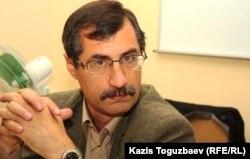 Евгений Жовтис, почетный председатель Казахстанского бюро по правам человека.