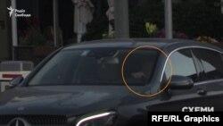 Із паркінгу офісного центру виїхав головний бізнес-партнер Коломойського Геннадій Боголюбов