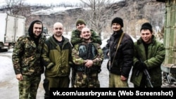 Бойовики батальйону «Брянка-СРСР»