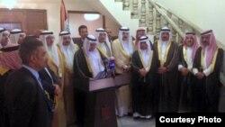 مجلس شيوخ ومقاتلي عشائر الانبار المتصدية للارهاب