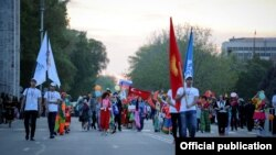 Бишкек шаарынын 140-жылдыгын майрамдоо. 29-апрель, 2018-жыл.