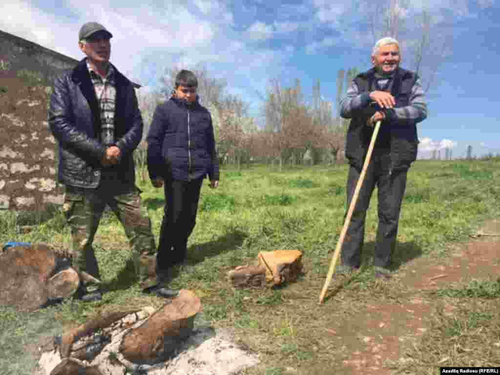 Azerbaijan - life in front line in Agdam region