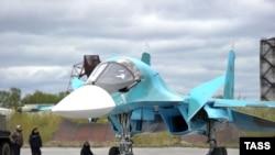 Ілюстрацыйнае фота. Су-34